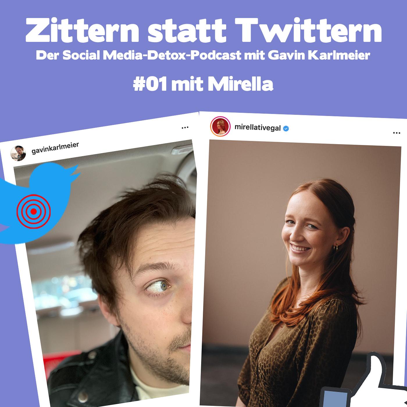 Mirella, wie süchtig sind wir nach Social Media? (mit @mirellativegal)