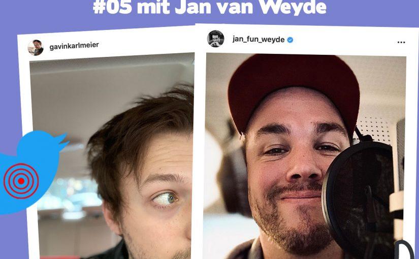 Jan van Weyde, wie bringt man Familie und Social Media unter einen Hut?